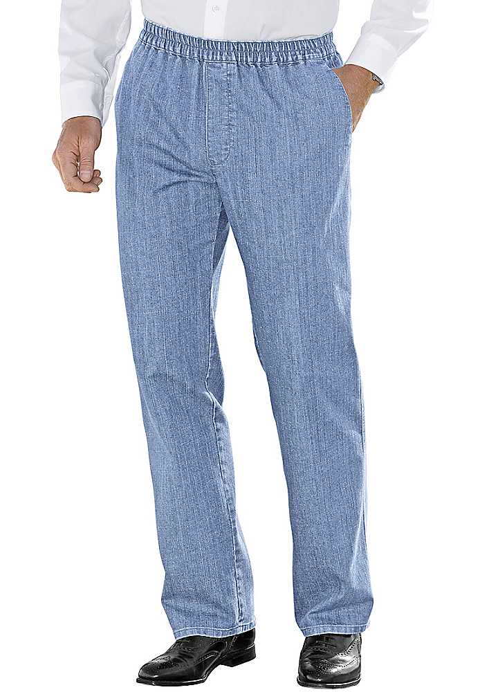 jeans with elasticated waist mens