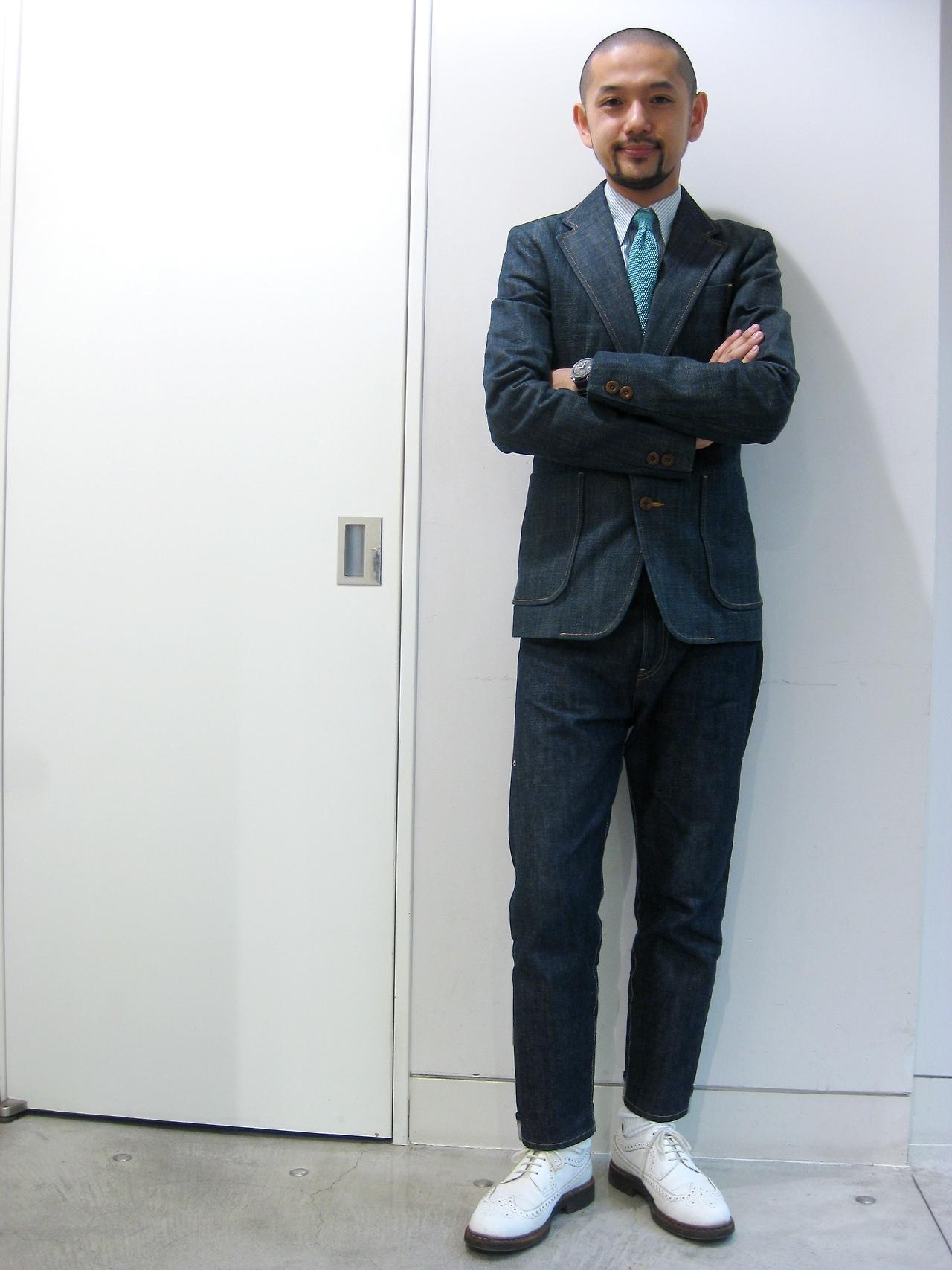 Denim-jacket-jeans-men-style-lookbook-white-shoes U2013 Fabrickated